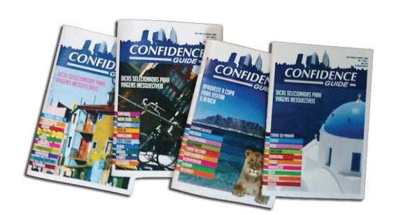 Guias de Viagem Confidence