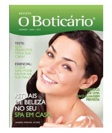 Revista O Boticário Internacional