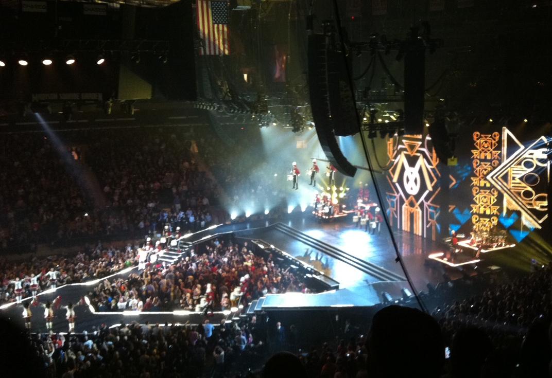 O Show Da Madonna No Madison Square Garden Mdna Tour