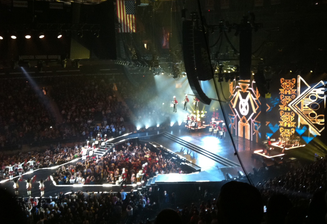 O show da Madonna no Madison Square Garden MDNA Tour Pulp Edies