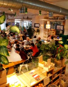 Restaurante Green Room