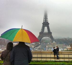 Torre Eiffel fotografada por VuThéara