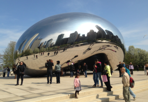 Cloud Gate, de Anish Kapoor, Chicago