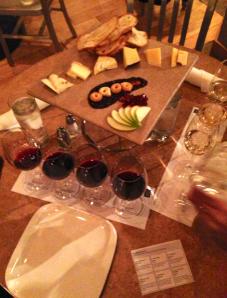 Wine and cheese flight no Bin 36