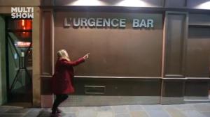 Finalmente encontrei! Bar L'Urgence, com drinques em mamadeiras.
