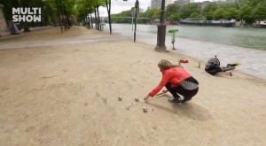 Golfe em Paris? @Multishow