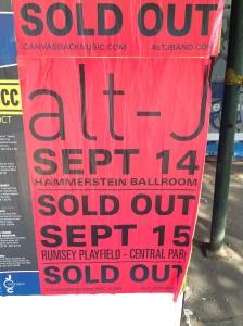 alt - J nos dias 14 e 15 de setembro já tem ingressos esgotados, mas se está a fim, vai lá que às vezes rola na entrada!
