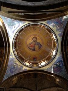 Cúpula da parte grego-ortodoxa do Santo Sepulcro.