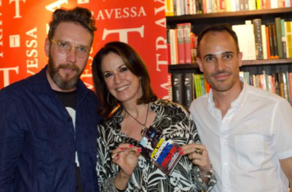 Herchcovitch, a consultora de moda Regina Martelli e Vicente Frare, sócio da Pulp