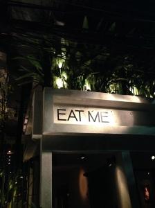 entrada do Eat Me!