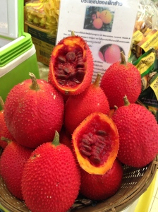 Gac fruit do Or Tor Kor Market