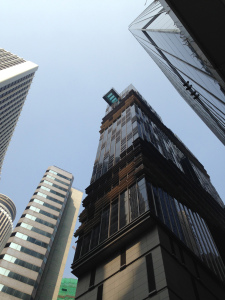 Indigo is a sleek tower smack in the middle of Wan Chai.